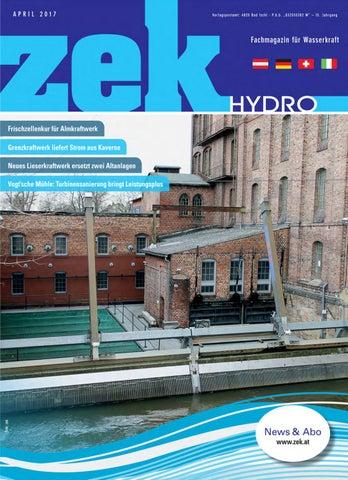Zek Hydro   Ausgabe 2   2017 By Zek Magazin   Issuu