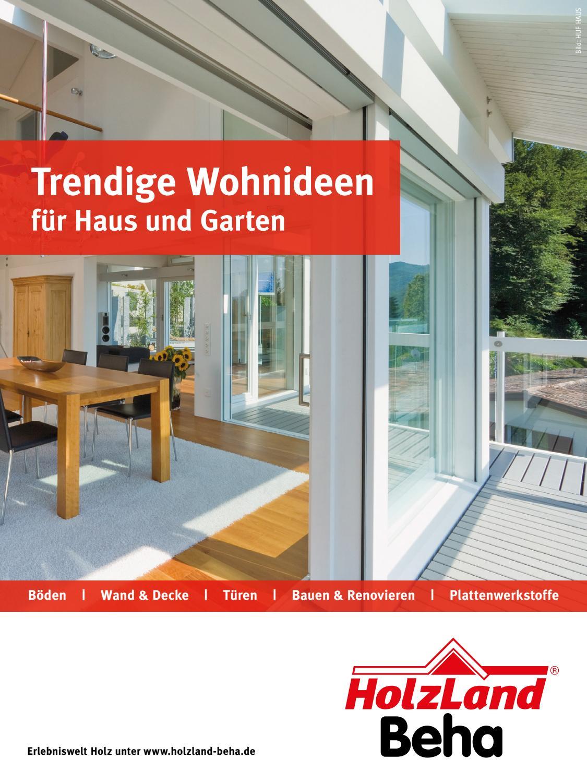 HolzLand Beha Indoor 2017 by Kaiser Design - issuu