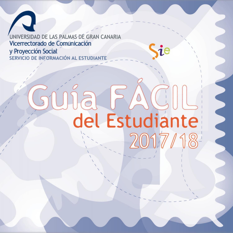Guía Fácil Del Estudiante 2017 2018 By Universidad De Las