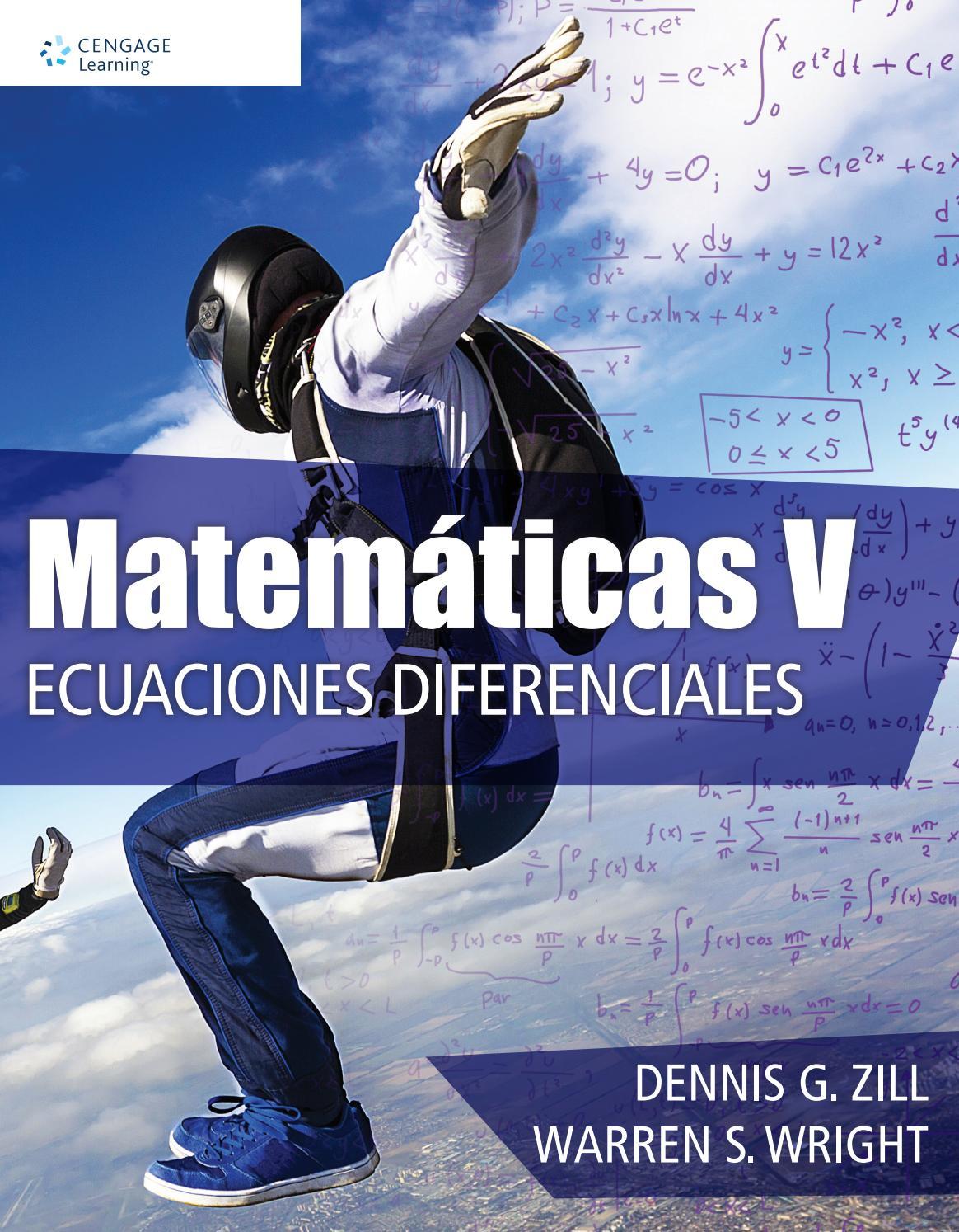 libro dennis zill ecuaciones diferenciales 8 edicion pdf