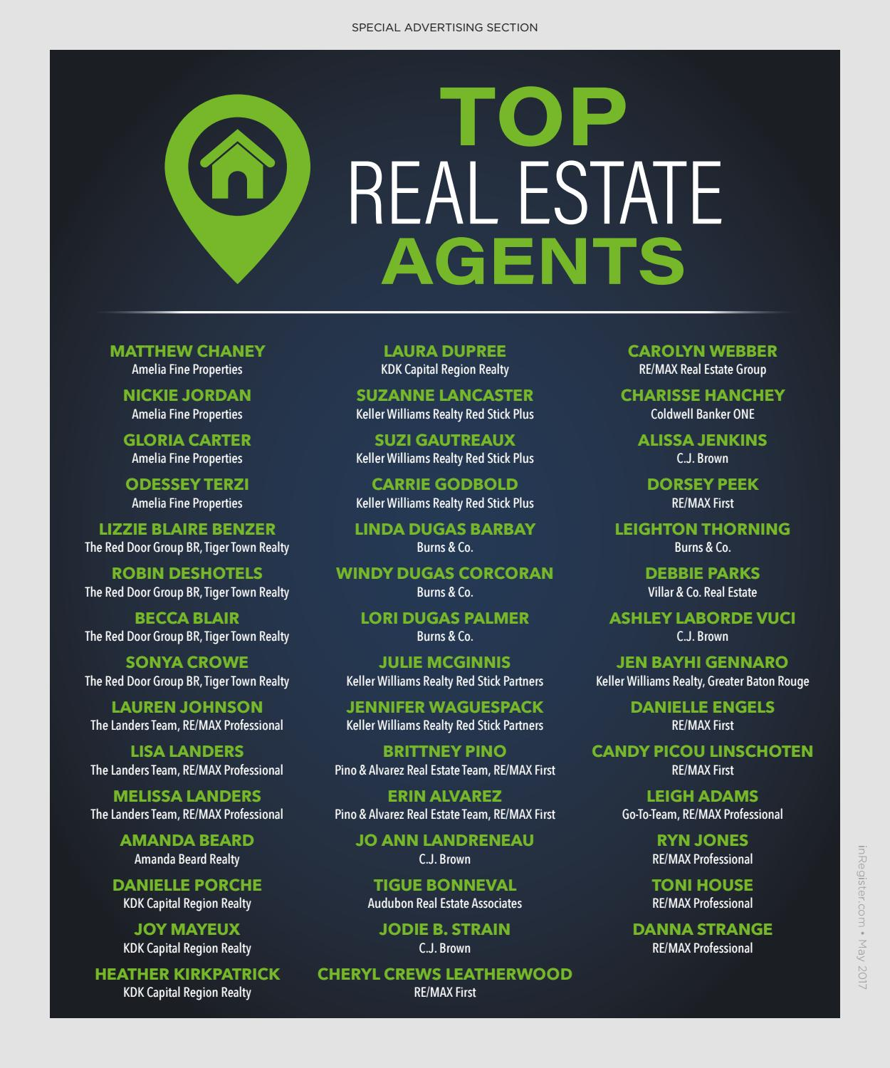 2017 Baton Rouge Top Real Estate Agents by Baton Rouge ... - photo#34