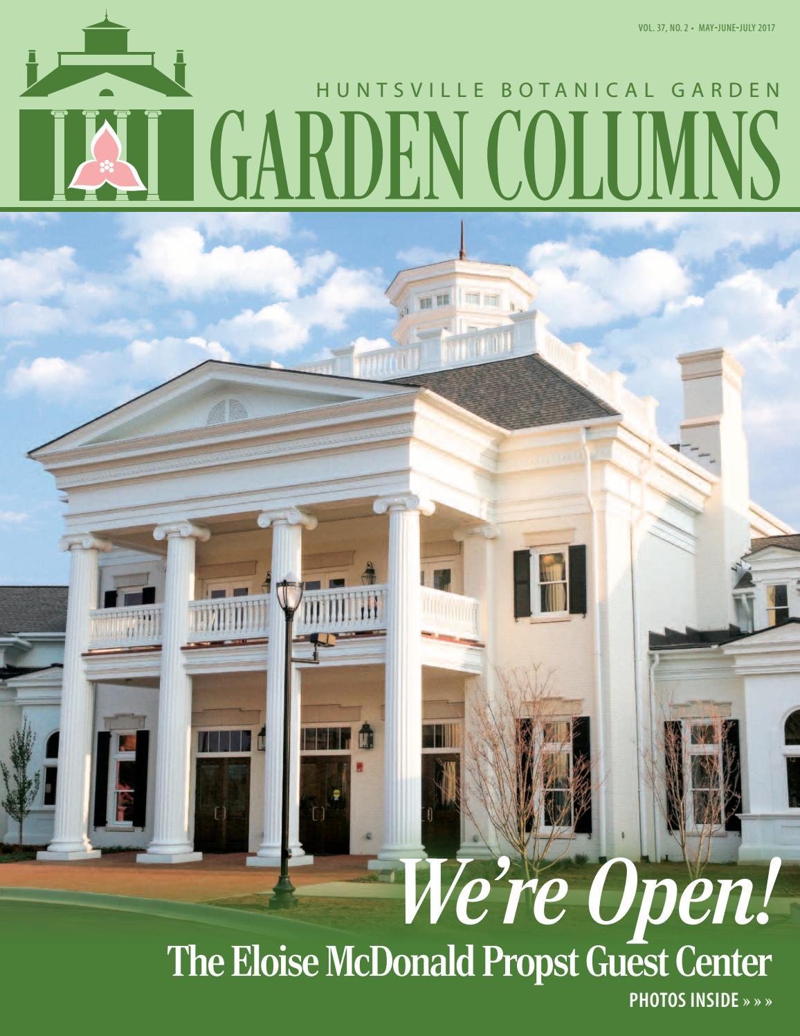 Hbg garden columns may june july 2017 by huntsville botanical garden issuu for Huntsville botanical gardens hours