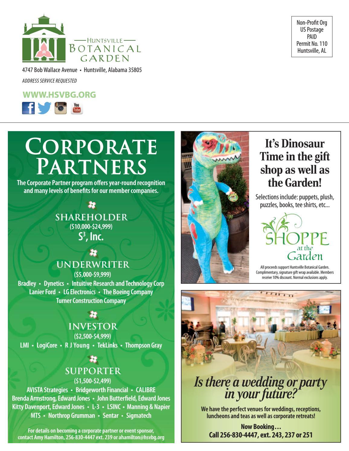 HBG Garden Columns - May June July 2017 by Huntsville Botanical