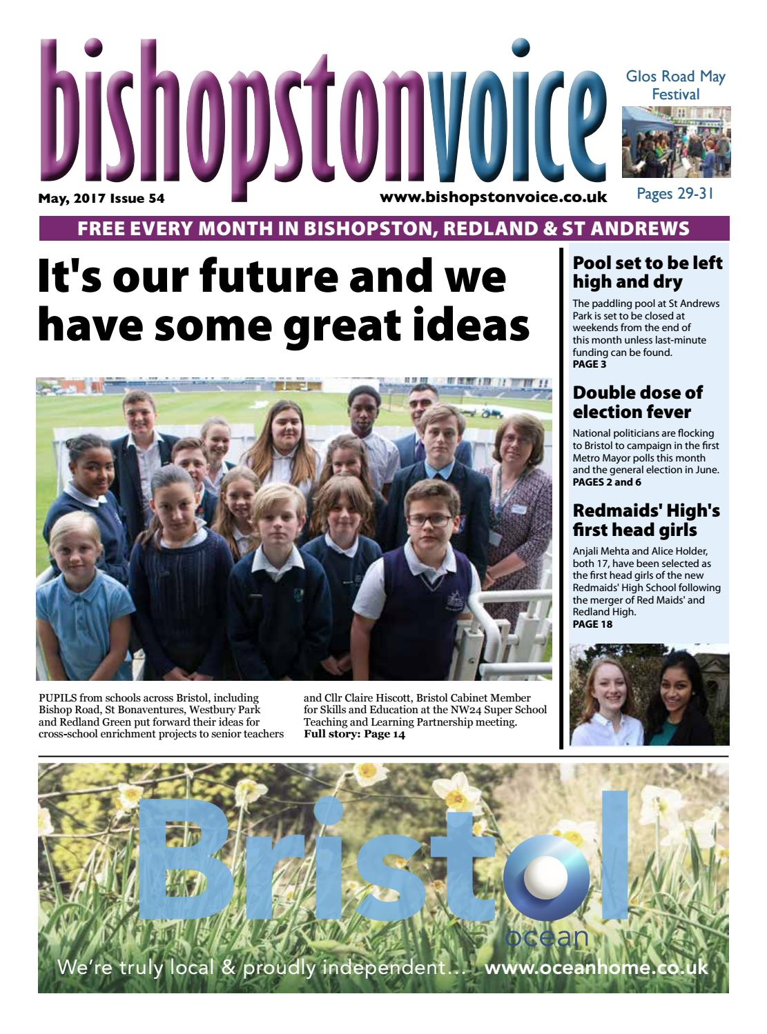 Bishopston voice may 2017 by emma cooper issuu