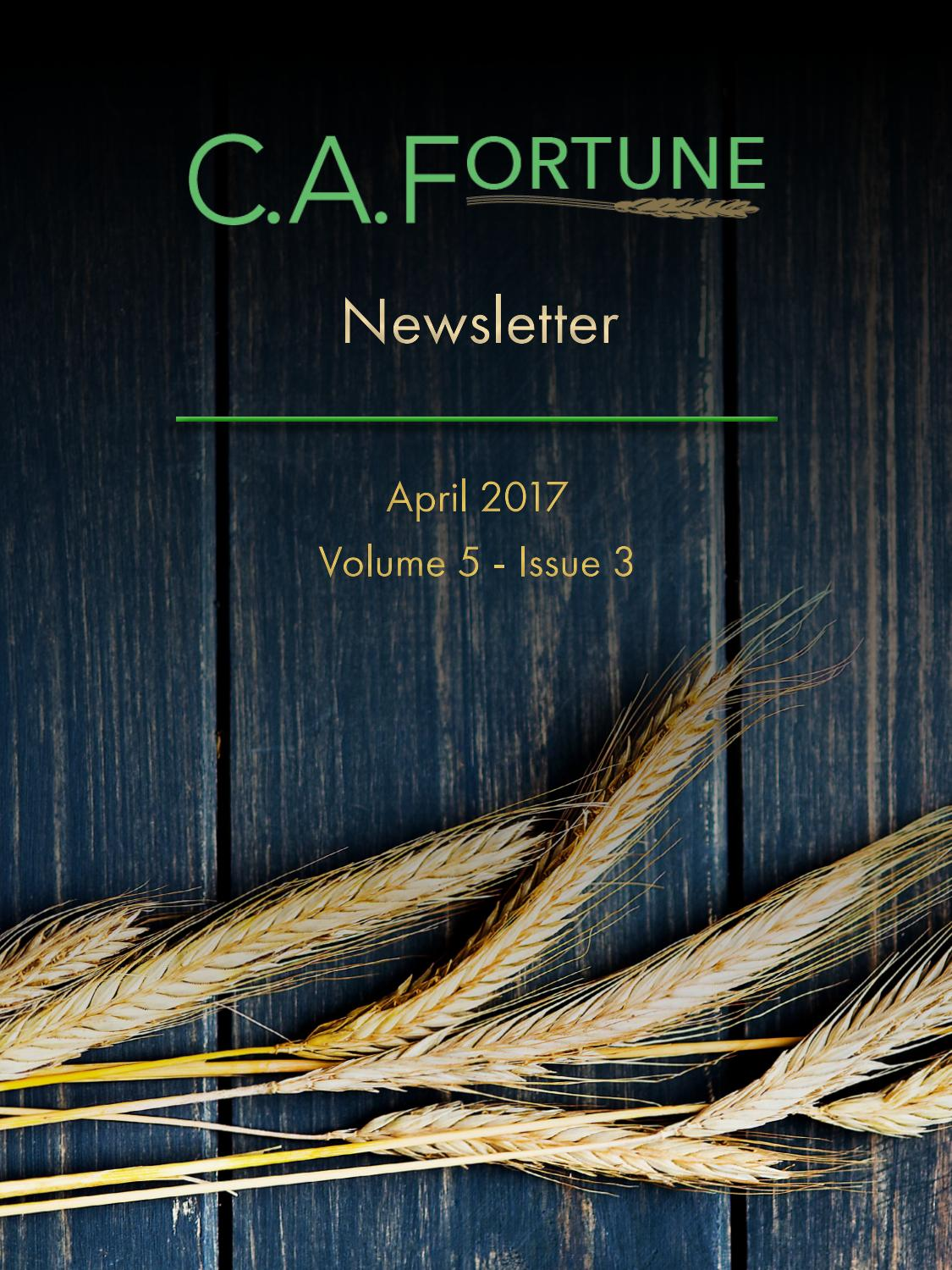 ca fortune newsletter april 2017 by ca fortune issuu
