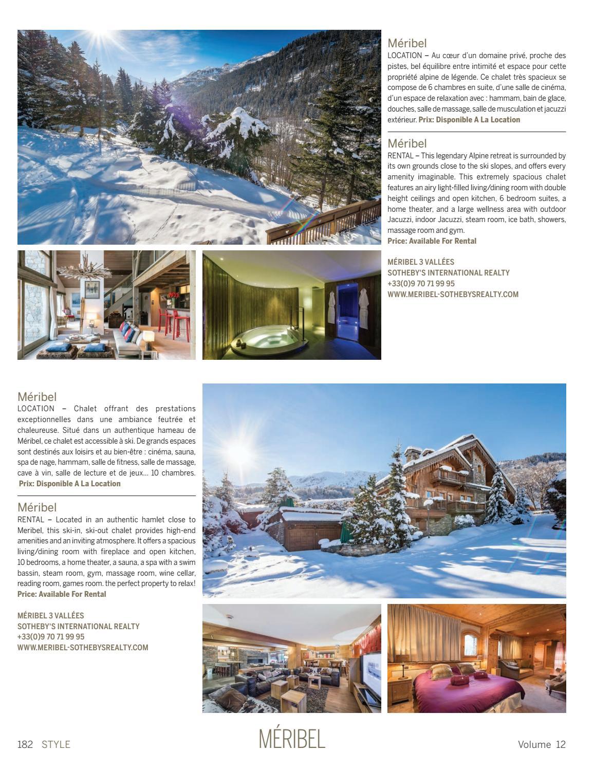 Prix D Un Sauna style - volumen 12sotheby's international realty france