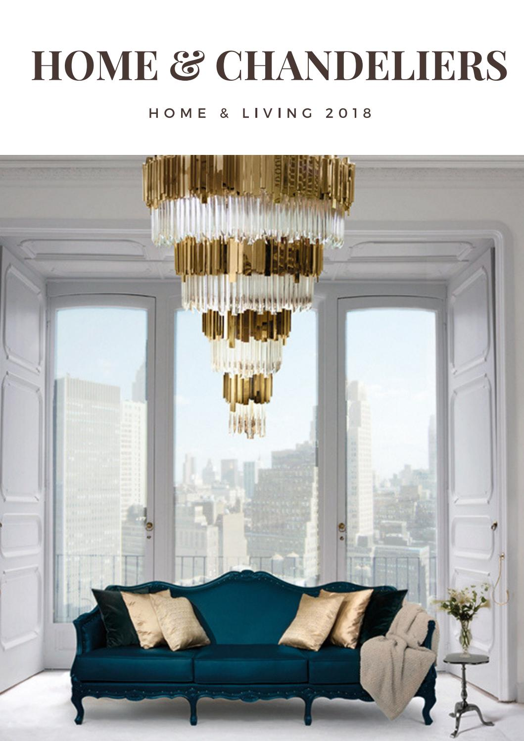 luxury chandeliers decor home ideas interior design trends 2018 luxury brands home living by. Black Bedroom Furniture Sets. Home Design Ideas