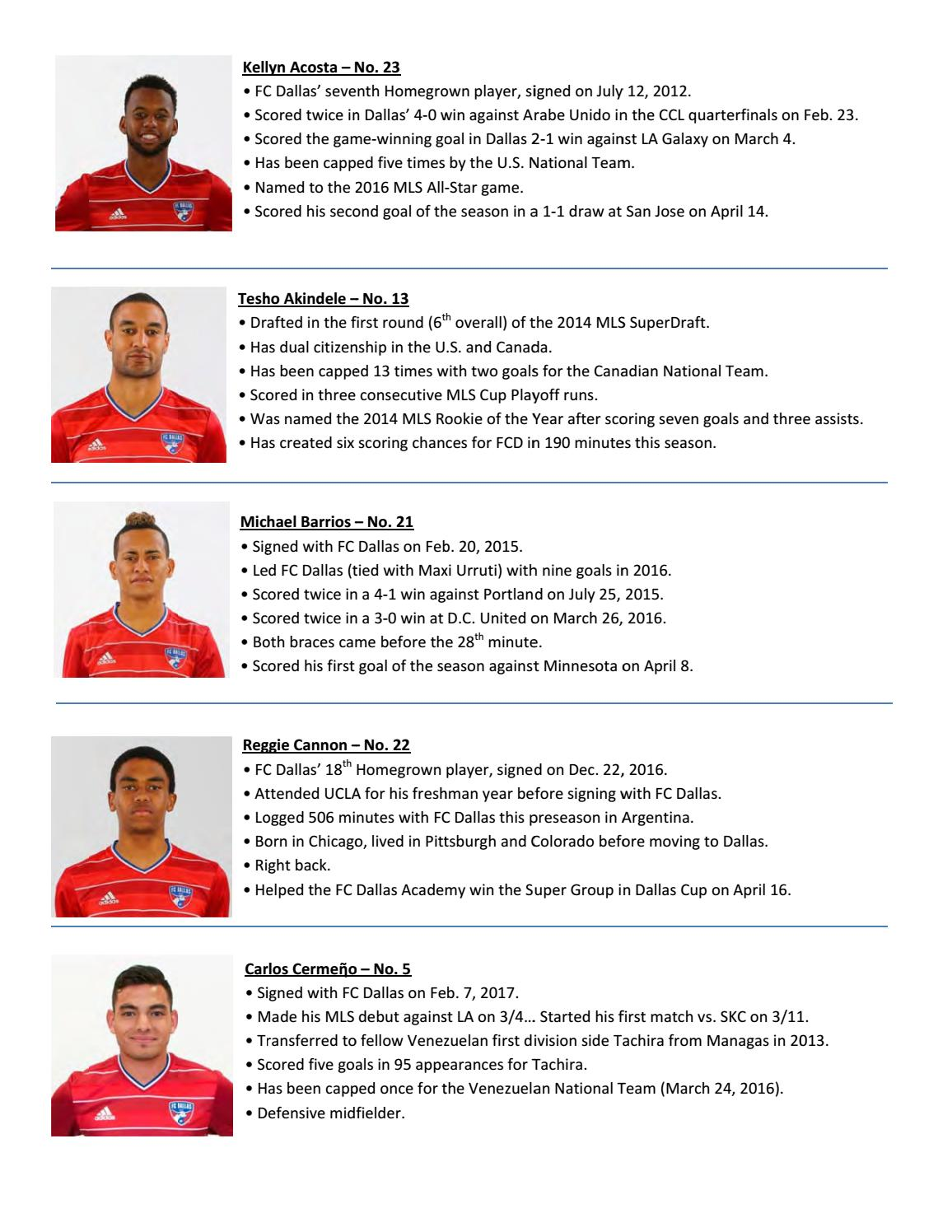 Game Guide: Sporting KC at FC Dallas by Sporting Kansas City