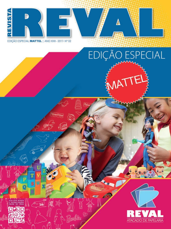 Revista Reval Mattel 2017 by Reval Atacado de Papelaria Ltda. - issuu 05dd6e3976