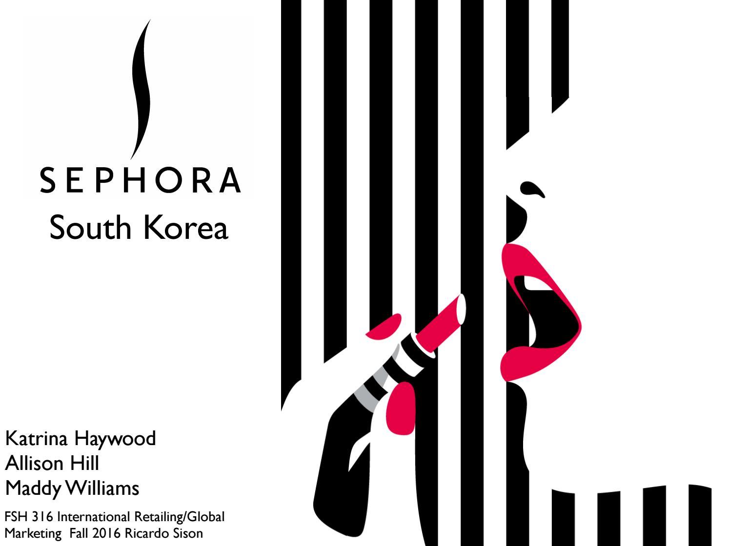 Sephora in south korea marketing plan by maddy issuu buycottarizona Choice Image