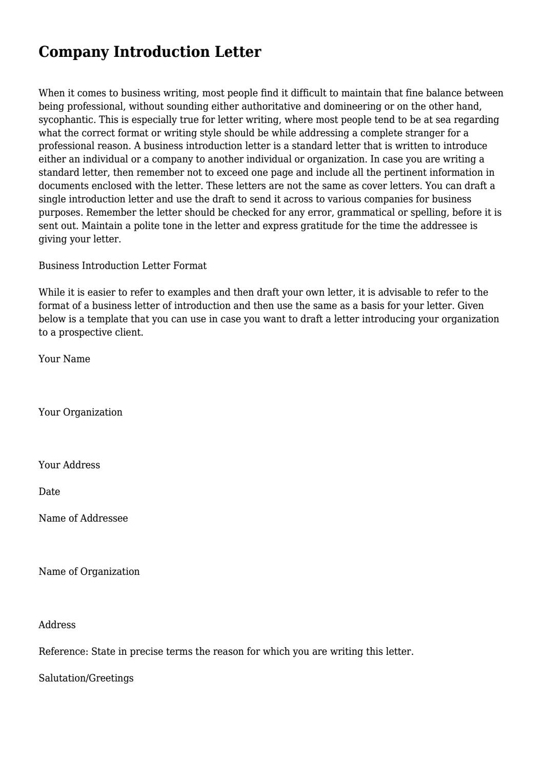 Company Introduction Letter For New Business from image.isu.pub
