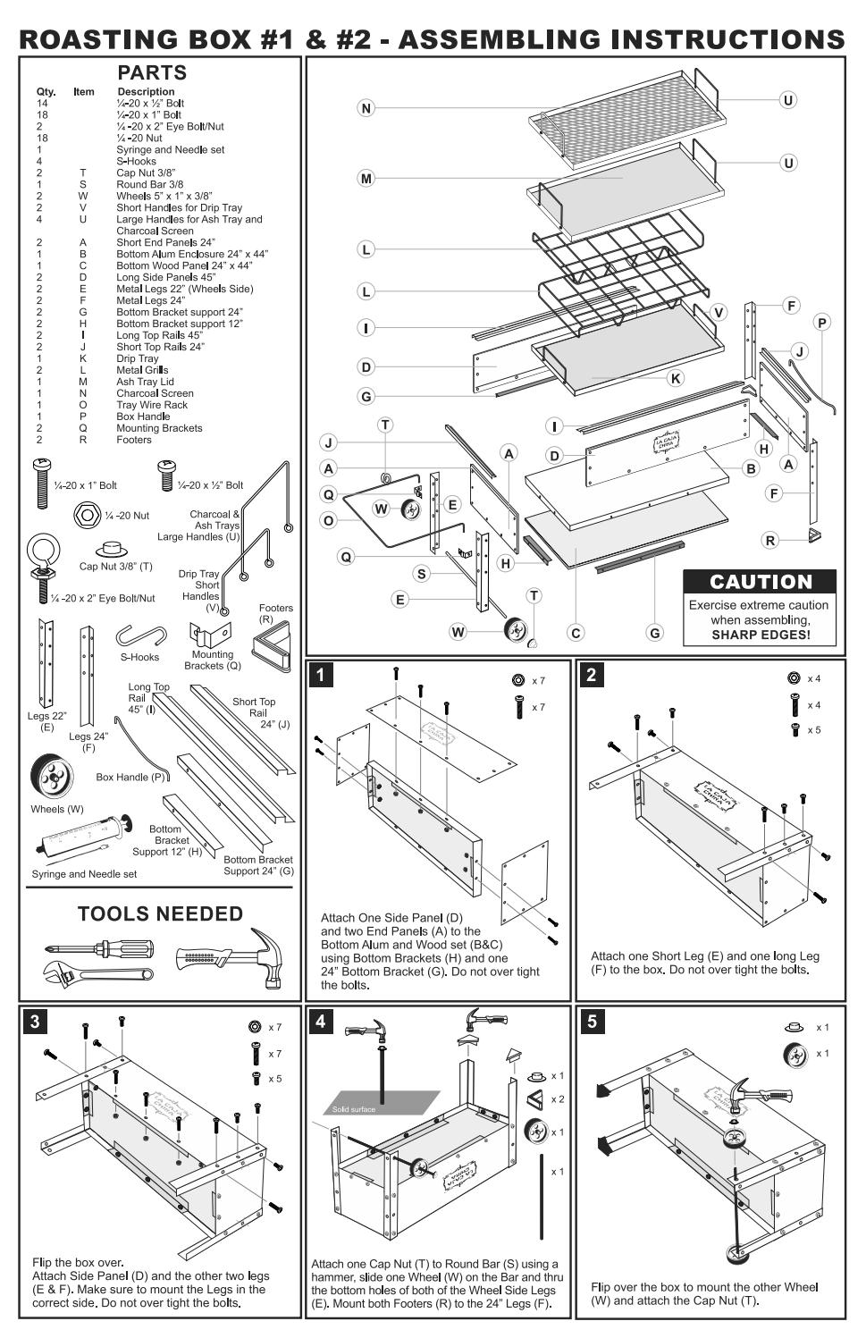 Lcc Assembly Instructions 2016 By La Caja China Issuu