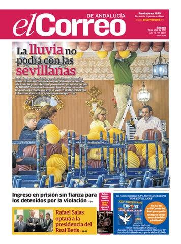 2664f8b75695e 29 04 2017 El Correo de Andalucía by EL CORREO DE ANDALUCÍA S.L. - issuu