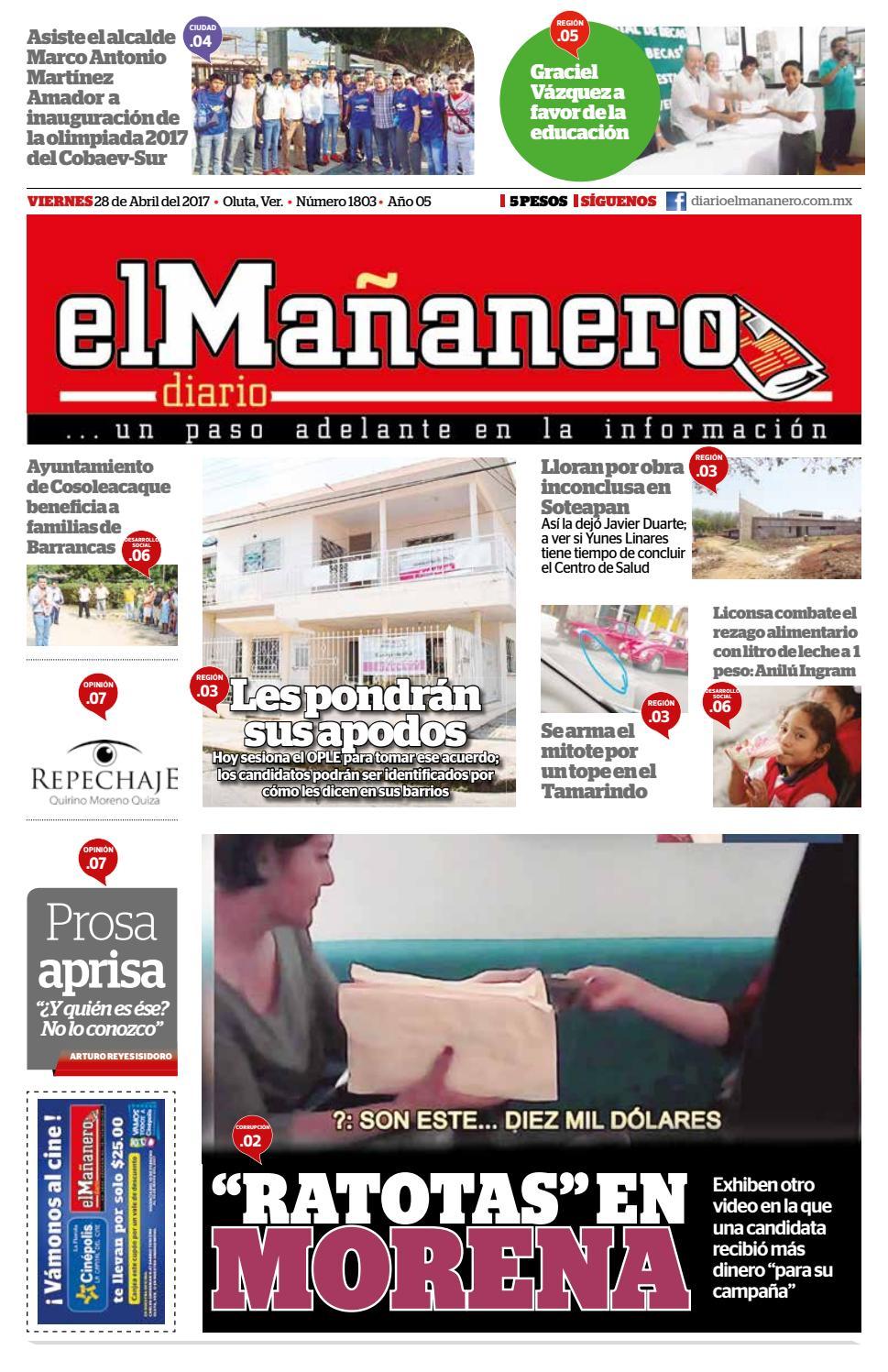 28 04 2017 by Diario elMañanero - issuu