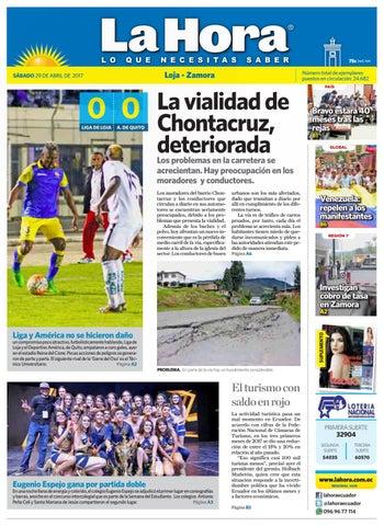 Diario La Hora Loja 29 de Abril 2017 by Diario La Hora Ecuador - issuu f858657affc43