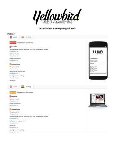 Luxe Kitchen & Lounge by Yellowbird Media + Marketing - issuu