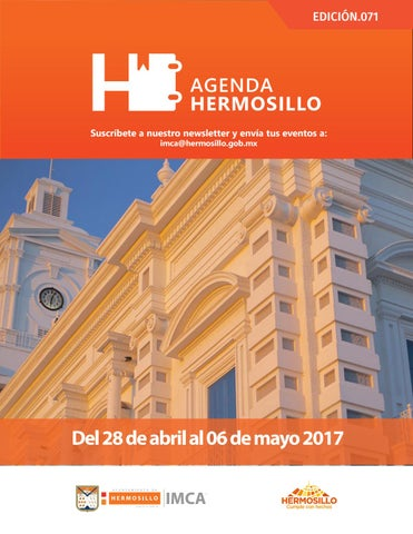 "Cover of ""Agenda Hermosillo 28abril2017"""