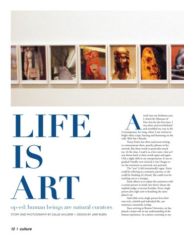 Page 12 of Life is Art