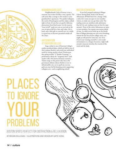 Page 14 of Places to Ignore Your Problems