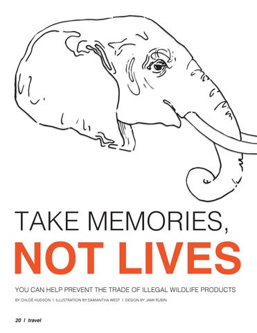 Page 20 of Take Memories, Not Lives