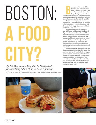 Page 28 of Boston: A Food City?
