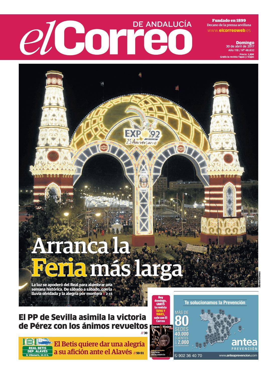 30 04 2017 El Correo De Andaluc A By El Correo De Andaluc A S L  # Muebles Cazo Estepona