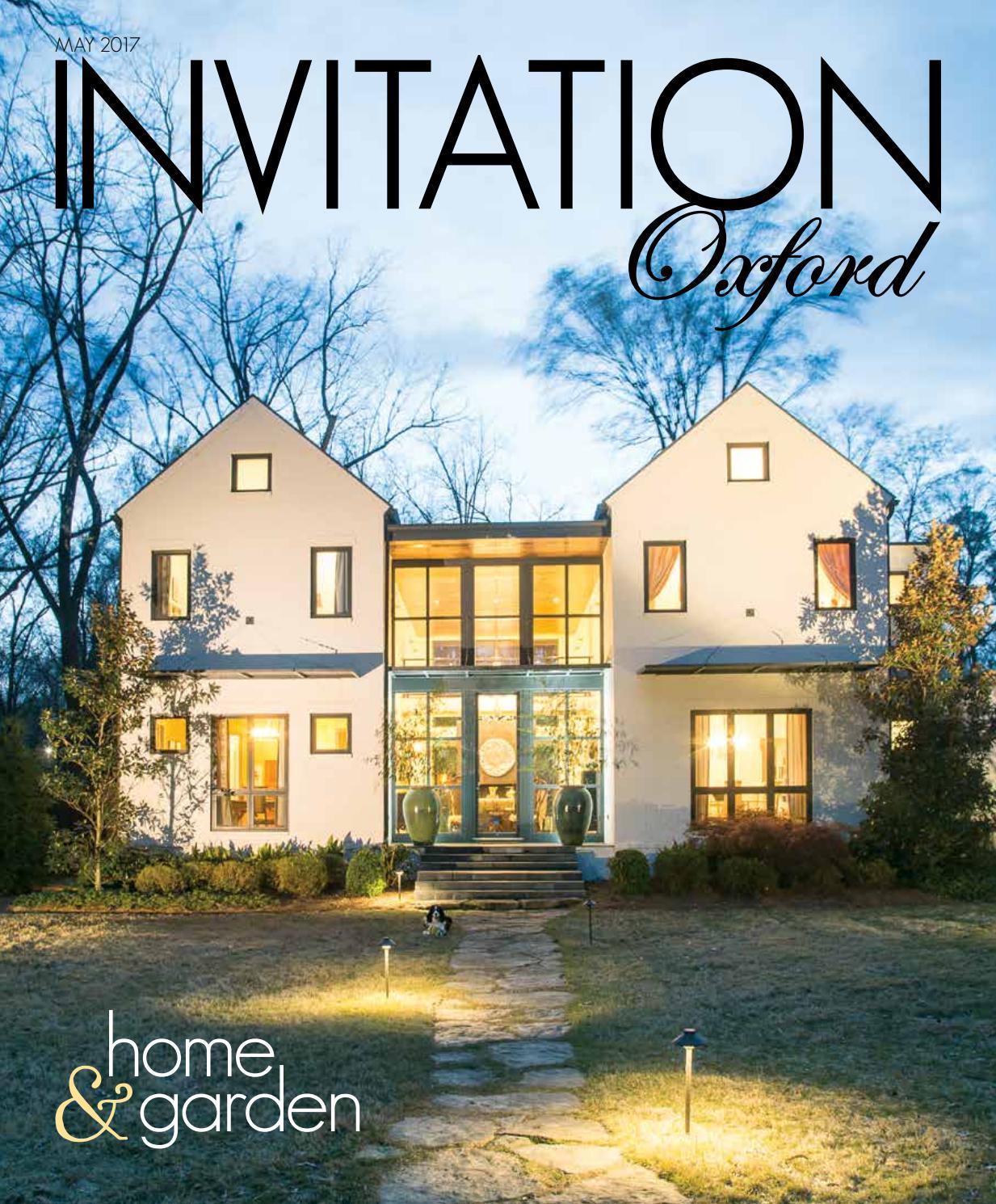 Invitation Oxford May 2017 by Invitation Magazines issuu