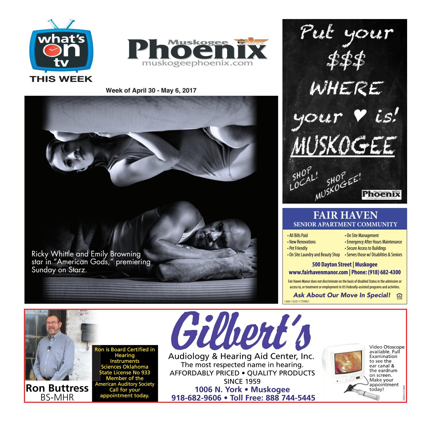 What s on TV 04 30 17 by Muskogee Phoenix issuu