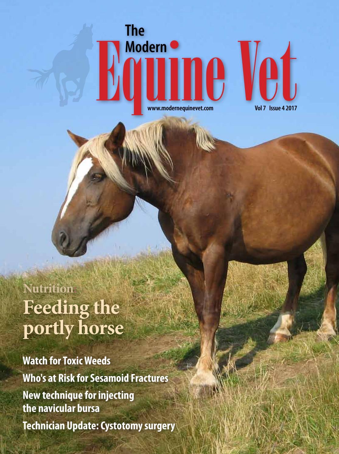 The Modern Equine Vet April 2017 by The Modern Equine Vet