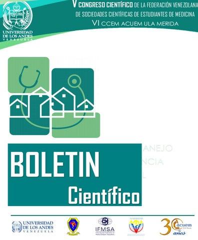 968178b19b I BOLETÍN CIENTÍFICO by FEVESOCEM IFMSA Venezuela - issuu