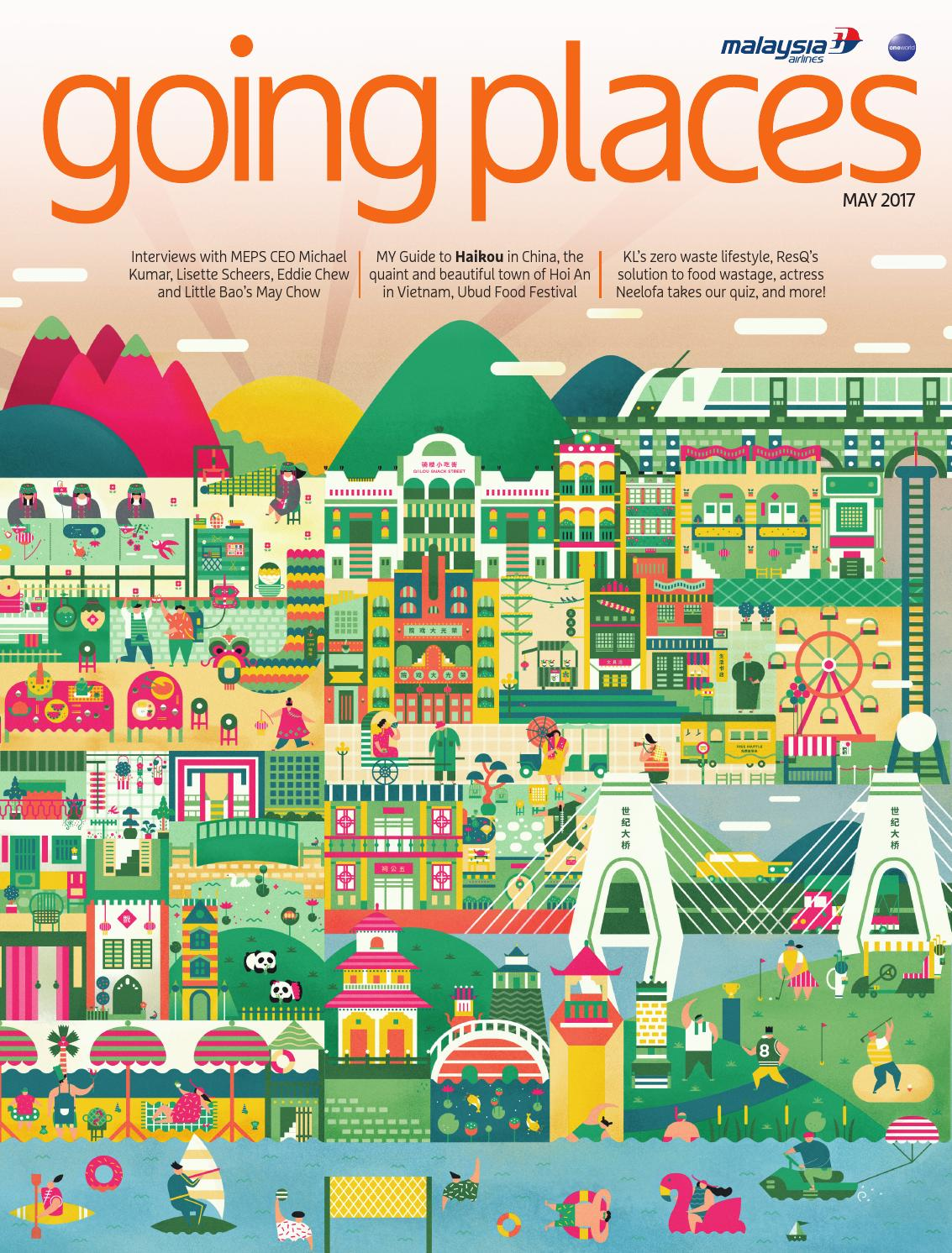 Going Places May 2017 by Spafax Malaysia - issuu
