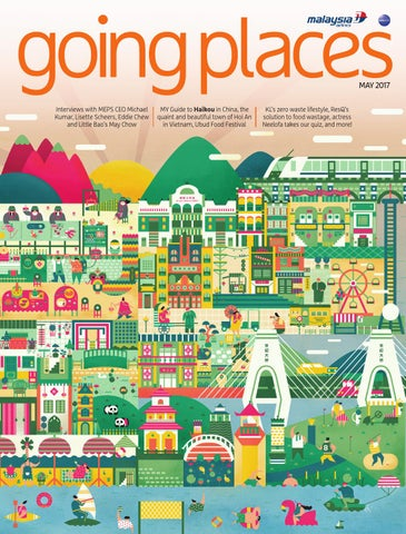 Going Places May 2017 By Spafax Malaysia Issuu