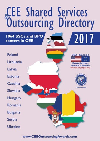CEE Shared Services & Outsourcing Directory 2017 by