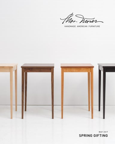 thos moser furniture company. thos. moser spring gifting lookbook 2017 thos furniture company