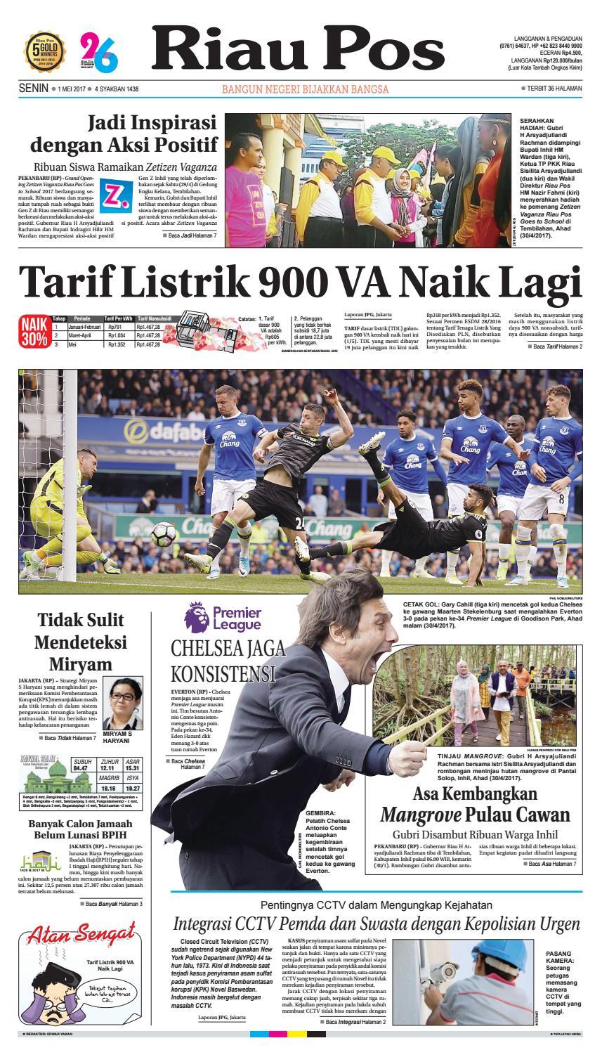 2017 05 01 By Riau Pos Issuu Produk Ukm Bumn Keset Our House