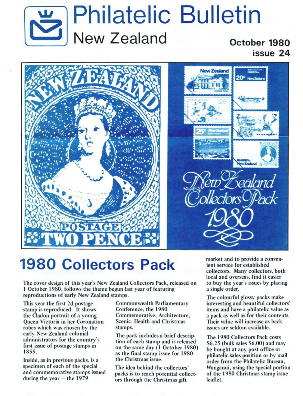 Series 4 new zealand philatelic bulletin no 24 1980 october by New Zealand Post - Issuu