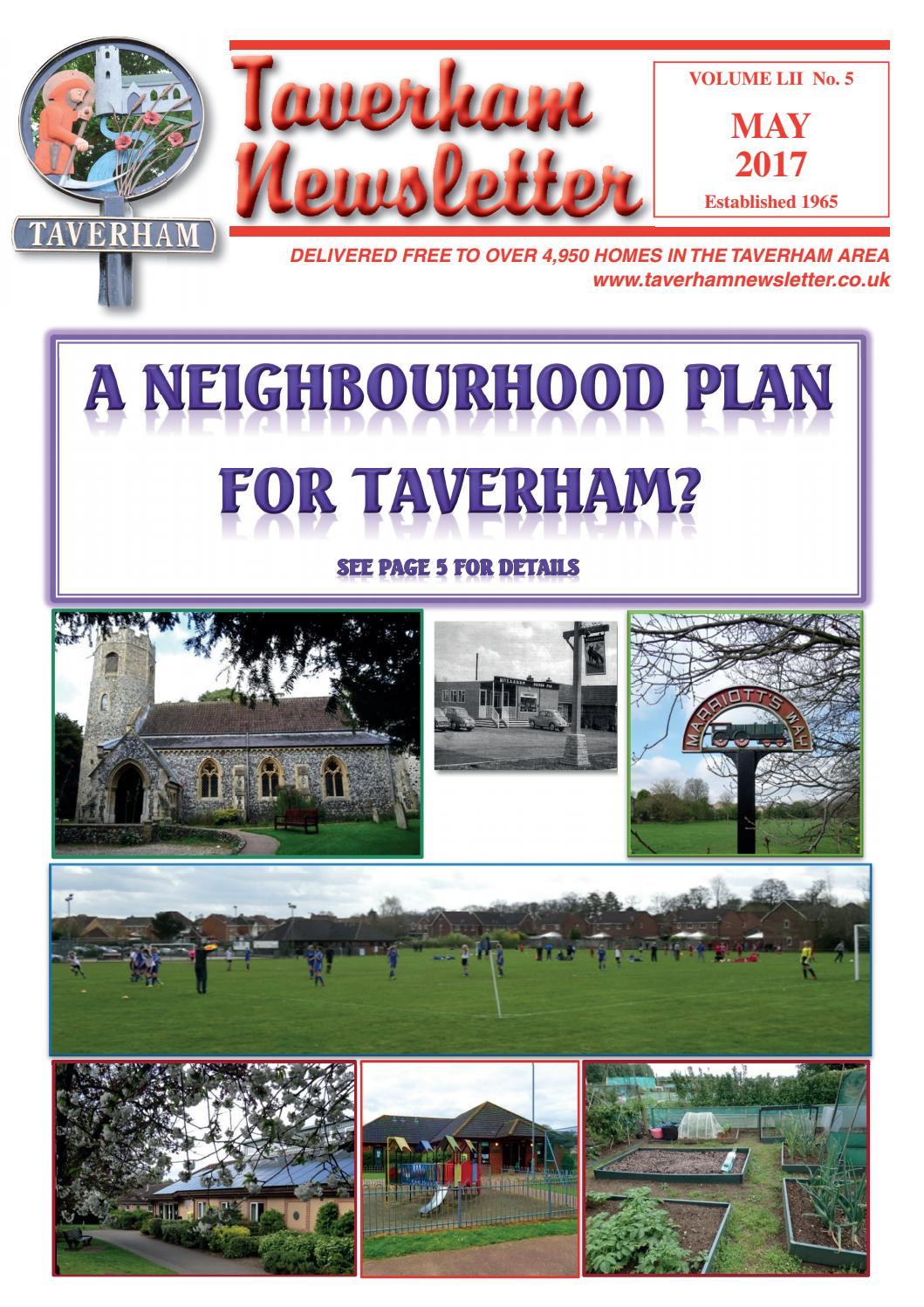May By Taverham Newsletter Issuu