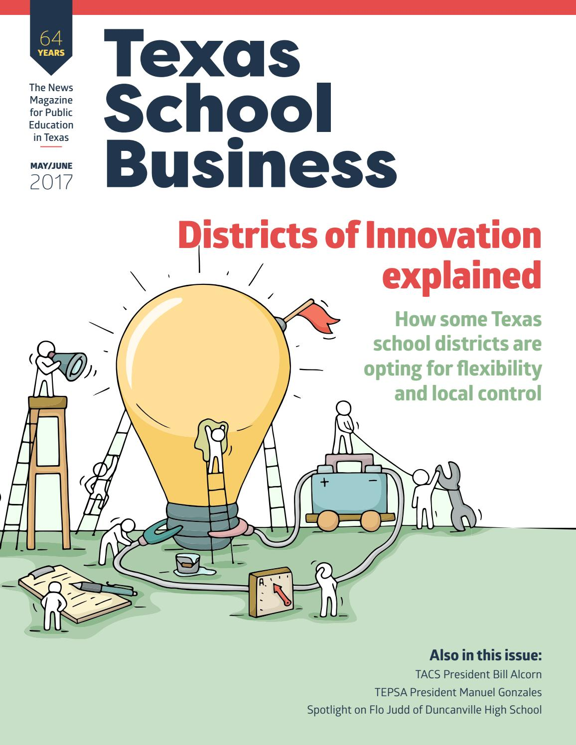 TSB—May/June 2017 by Texas Association of School