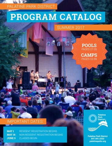 1a1baccee61 Palatine Park District | Summer 2017 Program Catalog by Palatine ...