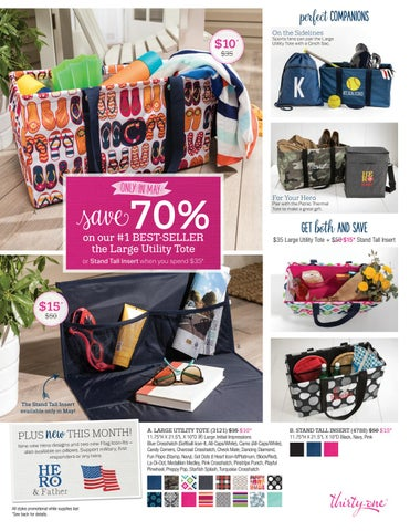 Thirty-One Gifts MAY Customer Special 2017 by kristinmoses ...