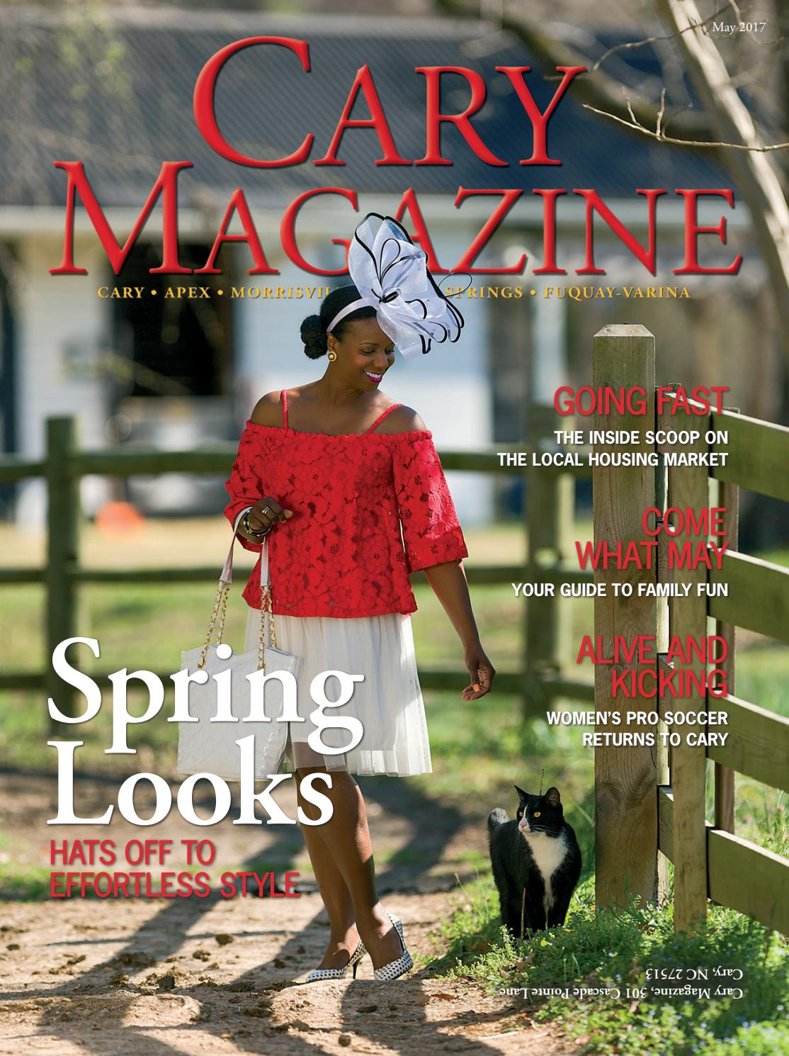 cheap for discount 73bd9 bc02c Cary Magazine May 2017
