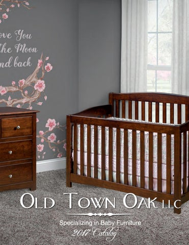 Old Town Oak LLC Specializing In Baby Furniture
