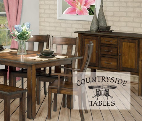 Perfect Countryside Tables 2017 By Heritage Amish Furniture   Issuu