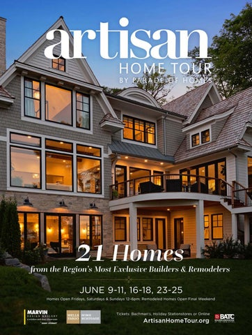 Artisan Home Tour by Parade of Homes® 2017 Guidebook by BATC