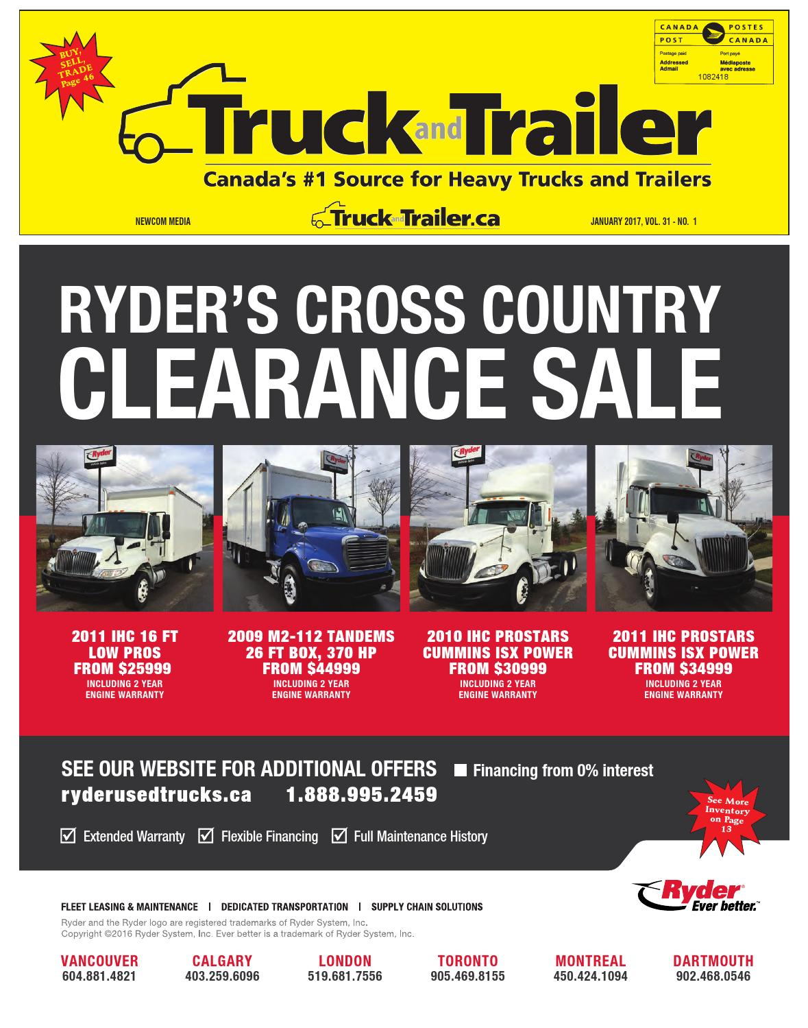 Truck and Trailer January 2017 by Annex Business Media - issuu
