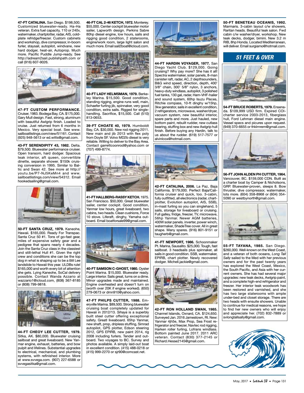 Latitude 38 May 2017 by Latitude 38 Media, LLC - issuu
