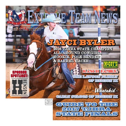 May 2017 Extreme Team News Official News Of Texas High