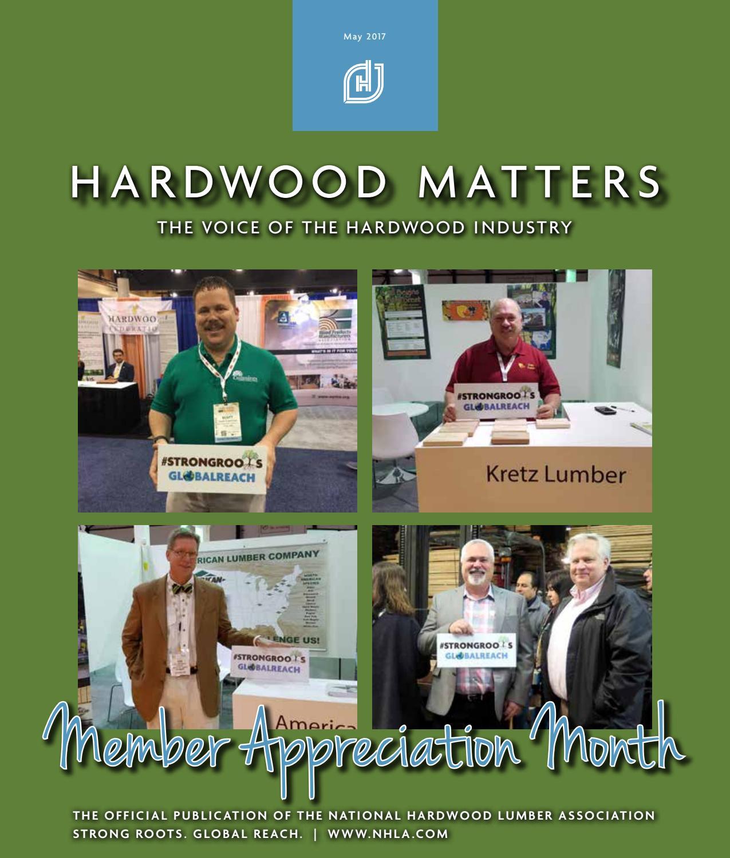 National Hardwood Lumber Association ~ May hardwood matters by national lumber