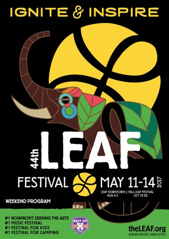 8fd25d9e8a6 LEAF Festival Weekend Program - May 2017 by LEAF Community Arts - issuu