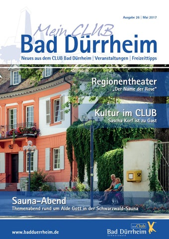magazin - mein club bad dürrheimkur- und bäder gmbh bad dürrheim